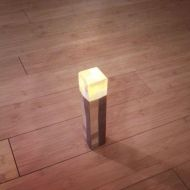 Light up your party room with these homemade torches. Directions can be found by Sev_Scorch at Instructables.com